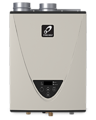 T-H3S-DV-NG 180,000 BTU Condensing Indoor Gas Tankless Water Heater