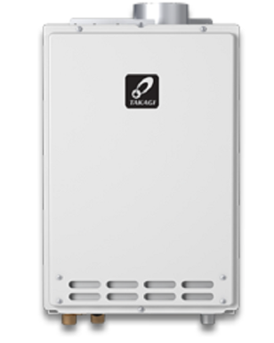 T-D2-IN-NG Takagi 199,000BTU Natural Gas Indoor Tankless Water Heater