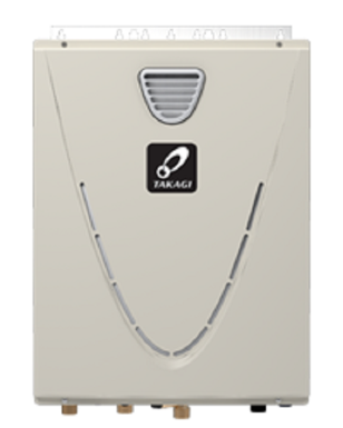 TCT-199O-P - 199,000 BTU Commercial Outdoor Tankless Water Heater